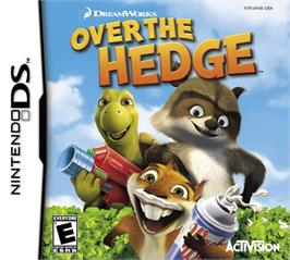 Box cover for Over the Hedge on the Nintendo DS.