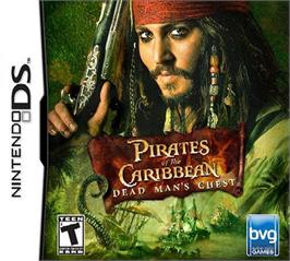 Box cover for Pirates of the Caribbean: Dead Man's Chest on the Nintendo DS.