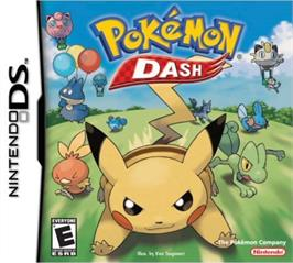 Box cover for Pokemon Diamond on the Nintendo DS.