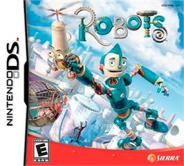Box cover for Robots on the Nintendo DS.
