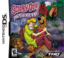 Box cover for Scooby Doo! Unmasked on the Nintendo DS.