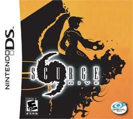 Box cover for Scurge: Hive on the Nintendo DS.