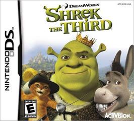 Box cover for Shrek the Third on the Nintendo DS.