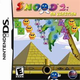 Box cover for Snood 2: On Vacation on the Nintendo DS.