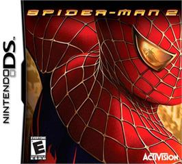 Box cover for Spider-Man 2 on the Nintendo DS.