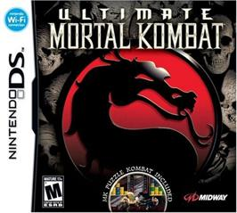 Box cover for Ultimate Mortal Kombat 3 on the Nintendo DS.