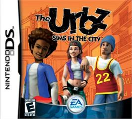 Box cover for Urbz: Sims in the City on the Nintendo DS.