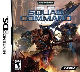 Box cover for Warhammer 40,000: Squad Command on the Nintendo DS.