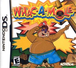 Box cover for Whac-A-Mole on the Nintendo DS.