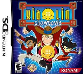 Box cover for Xiaolin Showdown on the Nintendo DS.