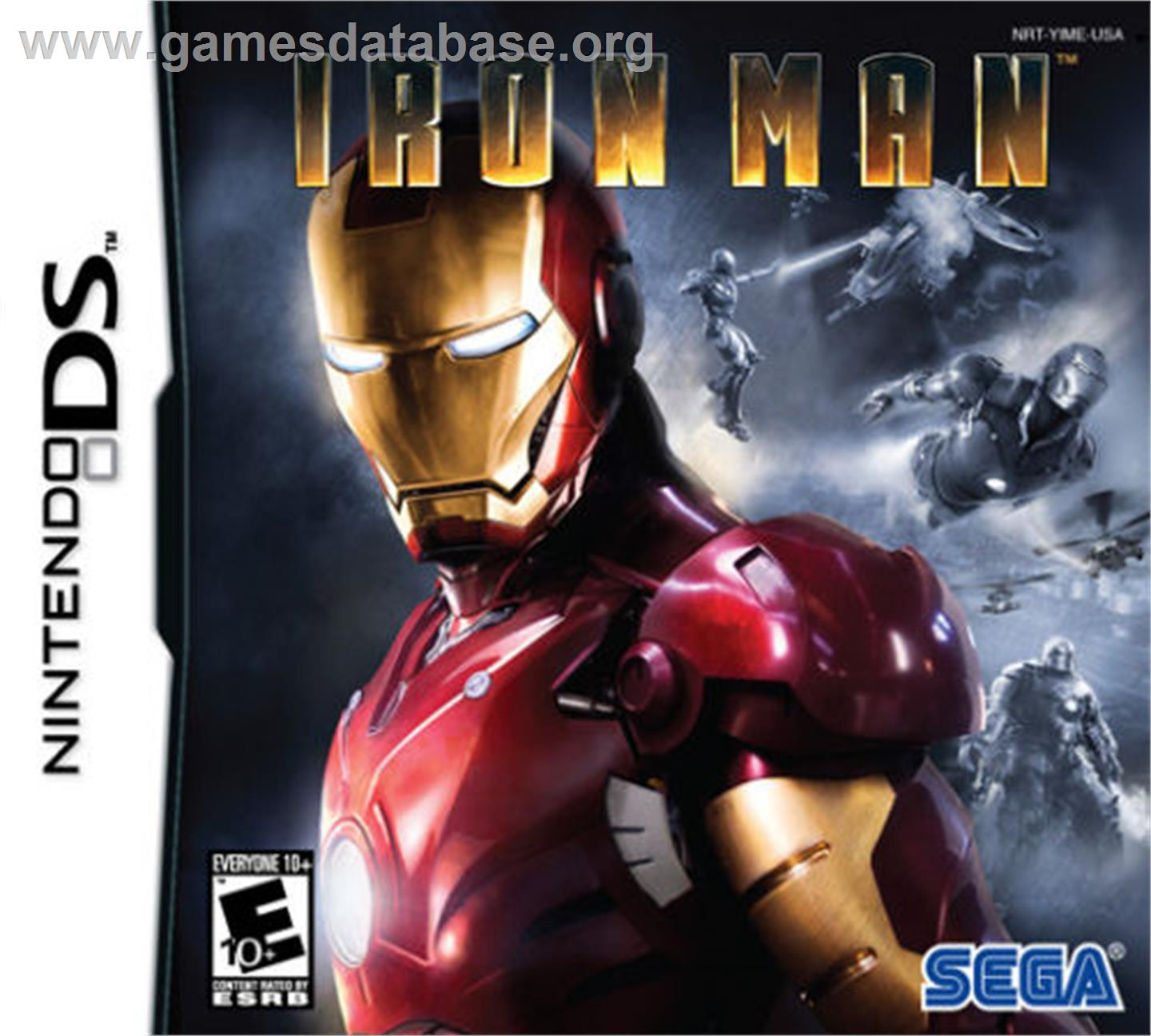 Iron Man - Nintendo DS - Artwork - Box