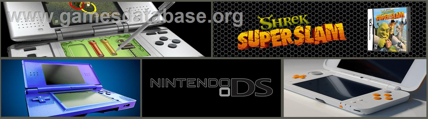 Shrek SuperSlam - Nintendo DS - Artwork - Marquee