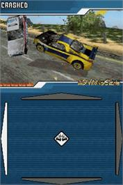 In game image of Burnout Legends on the Nintendo DS.
