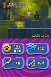 In game image of Scooby Doo! Unmasked on the Nintendo DS.