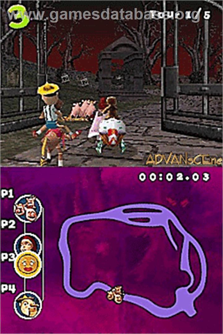 Shrek Smash N' Crash Racing - Nintendo DS