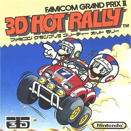 Box cover for Famicom Grand Prix II - 3D Hot Rally on the Nintendo Famicom Disk System.