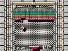 In game image of Nazo no Kabe - Block Kuzushi on the Nintendo Famicom Disk System.