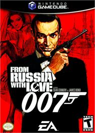 Box cover for 007: From Russia with Love on the Nintendo GameCube.