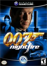Box cover for 007: Nightfire on the Nintendo GameCube.