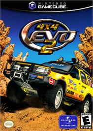 Box cover for 4x4 Evo 2 on the Nintendo GameCube.