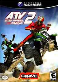 Box cover for ATV: Quad Power Racing 2 on the Nintendo GameCube.