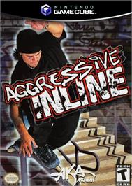 Box cover for Aggressive Inline on the Nintendo GameCube.