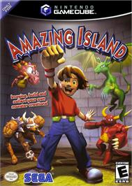 Box cover for Amazing Island on the Nintendo GameCube.