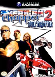 Box cover for American Chopper 2: Full Throttle on the Nintendo GameCube.