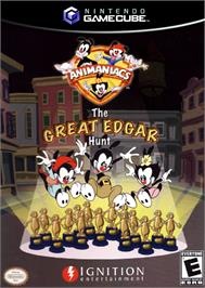 Box cover for Animaniacs: The Great Edgar Hunt on the Nintendo GameCube.