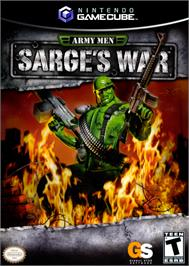 Box cover for Army Men: Sarge's War on the Nintendo GameCube.