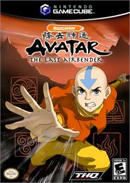 Box cover for Avatar: The Last Airbender on the Nintendo GameCube.