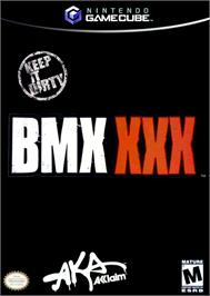 Box cover for BMX XXX on the Nintendo GameCube.
