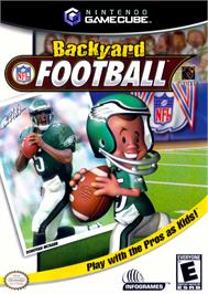 Box cover for Backyard Football on the Nintendo GameCube.