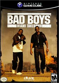 Box cover for Bad Boys: Miami Takedown on the Nintendo GameCube.