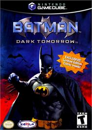 Box cover for Batman: Dark Tomorrow on the Nintendo GameCube.
