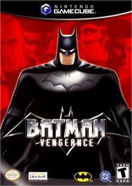 Box cover for Batman: Vengeance on the Nintendo GameCube.