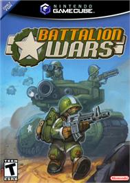 Box cover for Battalion Wars on the Nintendo GameCube.