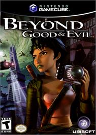 Box cover for Beyond Good & Evil on the Nintendo GameCube.