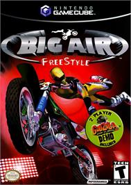 Box cover for Big Air FreeStyle on the Nintendo GameCube.
