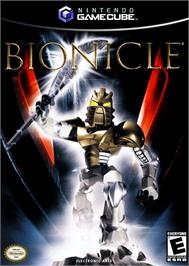 Box cover for Bionicle on the Nintendo GameCube.