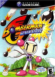 Box cover for Bomberman Generation on the Nintendo GameCube.