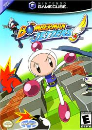 Box cover for Bomberman Jetters on the Nintendo GameCube.
