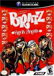 Box cover for Bratz: Rock Angelz on the Nintendo GameCube.