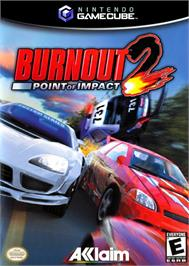 Box cover for Burnout 2: Point of Impact on the Nintendo GameCube.