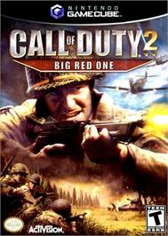 Box cover for Call of Duty 2: Big Red One on the Nintendo GameCube.