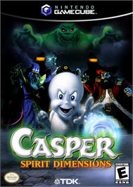 Box cover for Casper: Spirit Dimensions on the Nintendo GameCube.