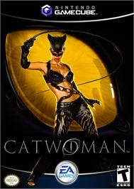 Box cover for Catwoman on the Nintendo GameCube.
