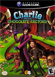 Box cover for Charlie and the Chocolate Factory on the Nintendo GameCube.