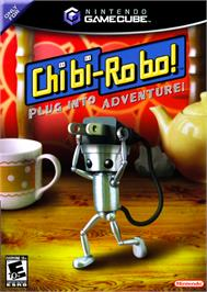 Box cover for Chibi-Robo on the Nintendo GameCube.