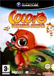 Box cover for Cocoto Platform Jumper on the Nintendo GameCube.